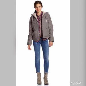 NWOT Carhartt Sandstone Sierra coat